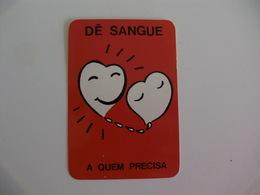 Blood Donors Donneurs De Sang Dadores De Sangue Portugal  Portuguese Pocket Calendar 1989 - Small : 1981-90