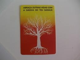 Blood Donors Donneurs De Sang Dadores De Sangue Portugal  Portuguese Pocket Calendar 1985 - Small : 1981-90