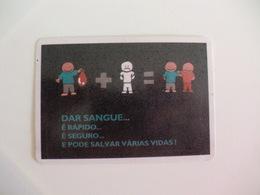 Blood Donors Donneurs De Sang Dadores De Sangue Portugal  Portuguese Pocket Calendar 1994 - Calendars