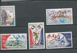 MALI  Scott 183, C188-C190, C219 Yvert 183, PA187-PA189, PA217 (5) ** Cote 7,00$ 1972-74 - Mali (1959-...)