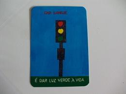 Blood Donors Donneurs De Sang Dadores De Sangue Portugal  Portuguese Pocket Calendar 1995 - Calendars