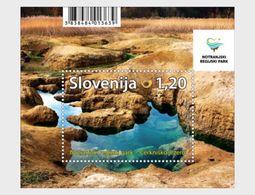 Slovenië / Slovenia - Postfris / MNH - Sheet Notranjska Nationaal Park 2017 - Slovenië