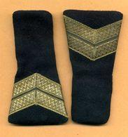 Marine - Fourreaux D'épaules De Second Maître. - Uniforms