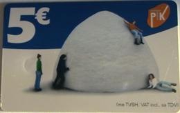 KOSOVO - Mountain Of Snow, 5 € , Used - Kosovo