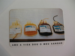 Blood Donors Donneurs De Sang Dadores De Sangue Portugal  Portuguese Pocket Calendar 1993 - Calendars