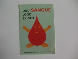 Blood Donors Donneurs De Sang Dadores De Sangue Portugal  Portuguese Pocket Calendar 1991 - Calendars
