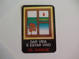 Blood Donors Donneurs De Sang Dadores De Sangue Portugal  Portuguese Pocket Calendar 1990 - Small : 1981-90