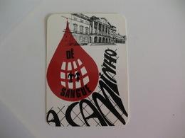 Blood Donors Donneurs De Sang Dadores De Sangue Portugal  Portuguese Pocket Calendar 1988 - Small : 1981-90