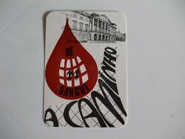 Blood Donors Donneurs De Sang Dadores De Sangue Portugal  Portuguese Pocket Calendar 1987 - Small : 1981-90