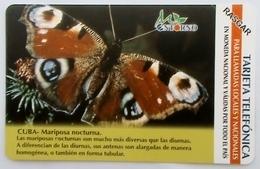 CUBA - Butterfly Nocturna,  Tirage 75.000, 01/03, Mint - Cuba