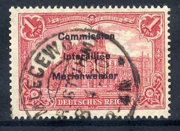 MARIENWERDER 1920 (27. March)  Overprint On Germany  1 Mk.., Used,   Michel 20 - Germany