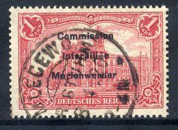 MARIENWERDER 1920 (27. March)  Overprint On Germany  1 Mk.., Used,   Michel 20 - Settori Di Coordinazione