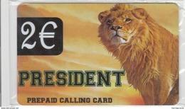 GREECE - President , Lion, Prepaid Card, 2 Euro ,mint - Greece