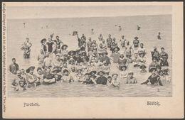 Fürdőzők, Siófok, Magyarország, C.1905 - Ellinger Ede U/B Levelezőlap - Hungary