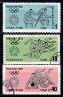 BG+ Bulgarien 1972 Mi 2172 2176-77 Olympiade München - Gebraucht