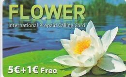 GREECE - Flower, GTN Prepaid Card 5+1 Euro, Mint - Greece