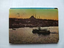 Turkije Turkey Istanbul Halic Ve Süleymaniye - Turkije