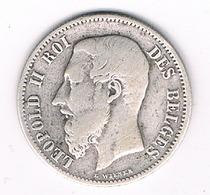 50 CENTIMES 1898 FR (mintage.499000ex.)   BELGIE/88G/ - 1865-1909: Leopold II