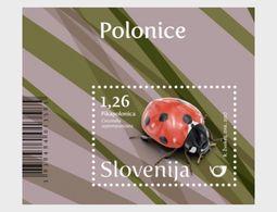 Slovenië / Slovenia - Postfris / MNH - Sheet Lieveheersbeestje 2017 - Slovenië