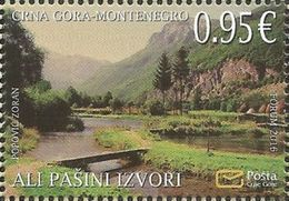 CG 2016-10 SAVE NATUR, CRNA GORA MONTENEGRO, 1 X 1v, MNH - Montenegro