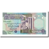 Billet, Libya, 1/2 Dinar, Undated (2002), KM:63, NEUF - Libye