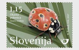 Slovenië / Slovenia - Postfris / MNH - Complete Set Lieveheersbeestje 2017 - Slovenië
