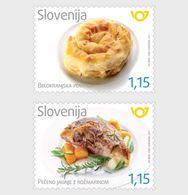 Slovenië / Slovenia - Postfris / MNH - Complete Set Sloveense Gerechten 2017 - Slovenië
