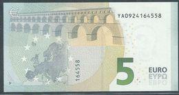 € 5 GREECE  Y001 J5  DRAGHI  UNC - 5 Euro