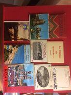 Lots DE 50 Carnets Souvenir France Et Etranger Petit Format  10 X 8 Cm - Postcards