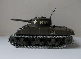 - Char - SHERMAN M4 A3 - Solido - N°231 - 1972 - - Tanks