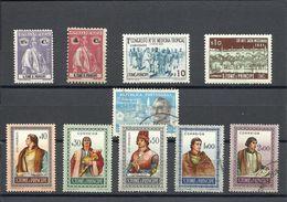 SAINT THOMAS & PRINCE , Lot De 10 Timbres De 1914 à 1953 - St. Thomas & Prince