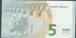 € 5 GREECE  Y001 E5  DRAGHI  UNC - 5 Euro