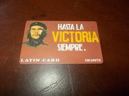 B675   Carta Telefonica Hasta La Victoria Siempre - Telefonkarten