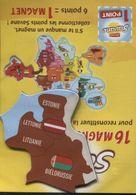 Magnet Brossard Bielorussie Lituanie Lettonie Estonie - Magnets