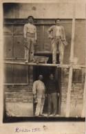 92  ASNIERES Carte Photo D'un Chantier  En 1912 - Asnieres Sur Seine