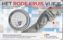 Nederland - Herdenkingsmunt - Het Rode Kruis Vijfje - Coincard - Niederlande