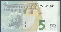 € 5 GREECE  Y001 C6  DRAGHI  UNC - 5 Euro