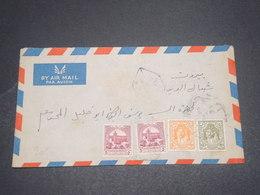 JORDANIE - Enveloppe De Amman Pour Beyrouth En 1948 , Affranchissement Plaisant - L 12544 - Jordan