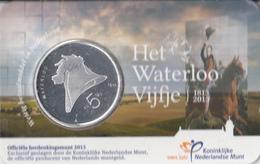 Nederland - Herdenkingsmunt - Het Waterloo Vijfje - Coincard - Paises Bajos
