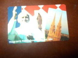 B675   Carta Telefonica Vaticana Da L.10000 - Télécartes