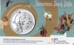 Nederland - Herdenkingsmunt - Het Jheronimus Bosch Vijfje - Coincard - Nederland