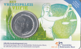 Nederland - Herdenkingsmunt - Het Vredespaleis Vijfje - Coincard - Niederlande