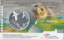 Nederland - Herdenkingsmunt - Het Waddenzee Vijfje - Coincard - Paises Bajos