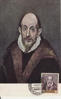 Carte-Maximum ESPAGNE N°Yvert 1011 / LE GRECO / Autoportrait - Maximum Cards