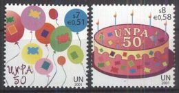 UNO WIEN 2001 Mi-Nr. 342/43 ** MNH - Wien - Internationales Zentrum