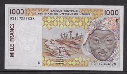 Sénégal - 1000 Francs 2002 - Pick N°711Kl - Neuf - Senegal