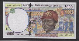Gabon - 5000 Francs 1994/2000 - Pick N°404 L - Neuf - Gabon