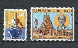 MALI Scott 288, C295 Yvert 287, PA295 (2) ** Cote 6,75$ 1977 - Mali (1959-...)