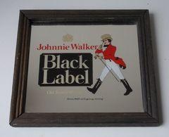 - Ancien Miroir Publicitaire - Whisky Johnnie Walker - - Miroirs