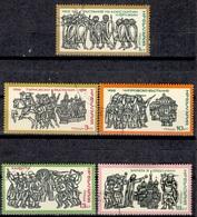 BG+ Bulgarien 1975 Mi 2442 2444-47 Geschichte - Used Stamps